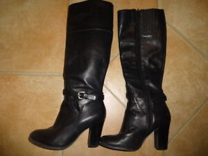 Marc Fisher Fashion Leather boots size 5.5