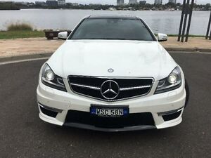 2012 Mercedes-Benz C63 Pearl White Sports Automatic Coupe Concord Canada Bay Area Preview