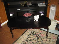 WOOD CHERRY COLOUR COFFEE TABLE VINTAGE