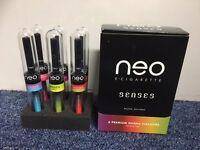 Box of 6 mixed NEO shisha sticks zero nicotine