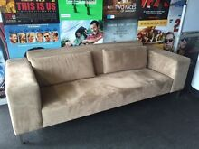 3 SEATER FABRIC SOFA Moore Park Inner Sydney Preview