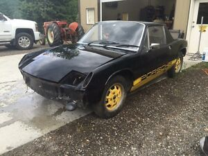 "1974 Porsche 914 Special Edition ""Bumble Bee"""