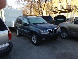2003 Jeep Grand Cherokee 4x4..Great Condition! Only $3950