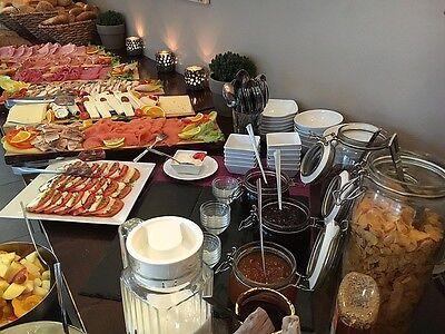 Guten Morgen! Mit so einem reichhaltigen Frühstücksbuffet fängt der Tag gut an.