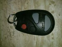 Nissan Keyless remote for doors & trunk