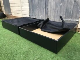 2x IKEA Vardö Underbed Storage Boxes Local delivery