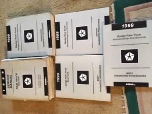 1999 DODGE RAMS 1500-3500 SEVICE MANUALS