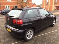 2002 Seat Ibiza Chill 1.4, Long MOT Jan 2018, FSH, 2 Lady Owners