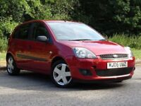 FORD FIESTA 1.2 ZETEC CLIMATE 16V 5d 78 BHP (red) 2006