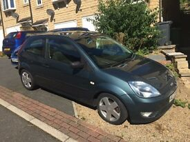 FORD FIESTA MK6 2003 1.4 ZETEC PETROL 3 DOOR - GREAT FIRST CAR OR CHEAP RUNABOUT.