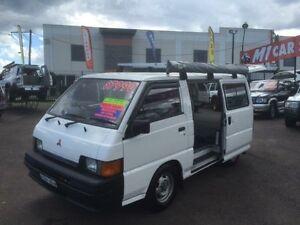 1996 Mitsubishi Express SF SWB White 5 Speed Manual Van Edgeworth Lake Macquarie Area Preview