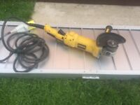 Heavy Duty Dewalt Grinder Disc Cutter In Great Condition - Only £35 - 110V