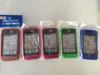 3 Different Colours iPhone 4/4S Otterbox Type High Quality Case