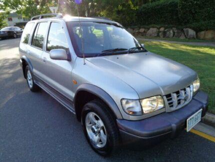 2001 Kia Sportage MY01 (4x4) Silver Metallic 4 Speed Automatic 4x4 Wagon Chermside Brisbane North East Preview