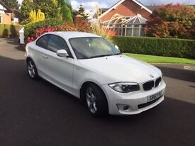 BMW 1 Series 118d Sport 2dr - 2012, White - Perfect Condition