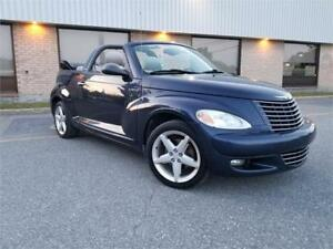 2005 CHRYSLER PT CRUISER GT TURBO CONVERTIBLE 145 000KM