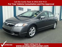 2011 HONDA CIVIC WITH SUNROOF