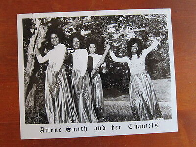 ARLENE SMITH  CHANTELS 8x10 photo  girl group bb