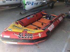 Aurora IRB 380 , Inflatable Boat cat hull with Tohatsu 25hp motor Port Noarlunga South Morphett Vale Area Preview