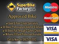 2011 11 BMW R1200RT 1200CC 0% DEPOSIT FINANCE AVAILABLE