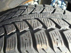 Audi A4 17 in alloy rims, 235 45 17 snow tires