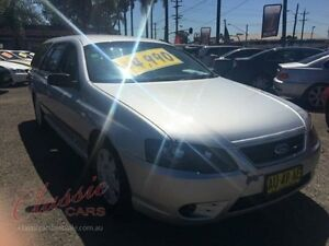 2007 Ford Falcon BF MkII XT Silver 4 Speed Auto Seq Sportshift Wagon Lansvale Liverpool Area Preview
