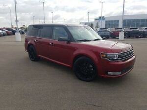 2017 Ford Flex Limited- 3.5L Ecoboost, Leather,Duel Sunroofs,SYN