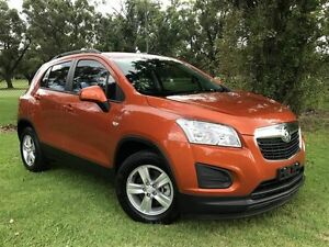 2014 Holden Trax TJ MY14 LS Orange 6 Speed Automatic Wagon Embleton Bayswater Area Preview