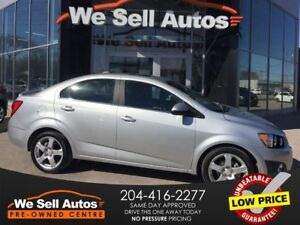 2015 Chevrolet Sonic LT *SUNROOF *REAR CAM *XM RADIO *BTOOTH *US