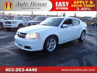2013 DODGE AVENGER SXT EVERYONE APPROVED $12488