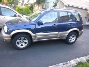 2002 Suzuki Vitara - Trade for E bike or Gas Bike