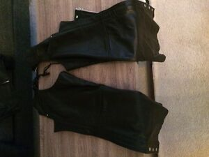 Women's small MB Elite Genuine Leather Motorcycle Chaps