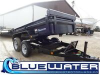60x10 TA Dump Trailer- with 3 way gate CALL NOW!