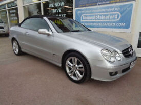 Mercedes-Benz CLK280 3.0 7G-Tronic Avantgarde Full S/H Good miles P/X Swap