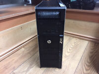 HP Z620 Workstation Xeon 1x E5-2620 Hex Core 12GB RAM 1TB HDD NVIDIA Win 7 PC