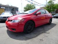 2008 HONDA CIVIC COUPE SI (MANUELLE, TOIT, MAGS , FULL, WOW!!!)