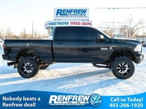2014 Ram 2500 4WD SLT Diesel, Lifted, Fuel Wheels