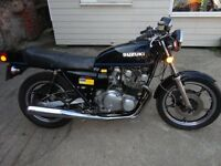 SUZUKI GS 750 (1977) P/X WELCOME CASH EITHER WAY