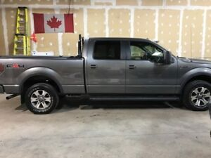 2011 Ford F-150 SuperCrew 4WD 157 FX4 Pickup Truck