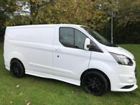 2015 65 FORD TRANSIT CUSTOM 2.2 290 LR RS CUSTOM STYLING PACK AIR CON ONE OWNER