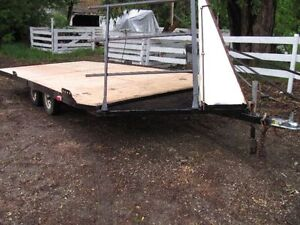 1991 Drive on/off 21' trailer