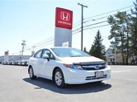 2012 Honda Civic LX Automatic, Air Conditioning, $53/wk
