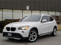 2012 BMW X1 AWD-NAVIGATION-PANO ROOF-PADDLE SHIFT