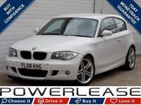 2008 08 BMW 1 SERIES 2.0 118D M SPORT 3D 141 BHP DIESEL