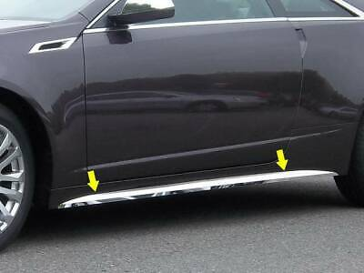 QAA 2011-2014 Fits Cadillac CTS Coupe 4 piece Stainless Rocker Panel Trim