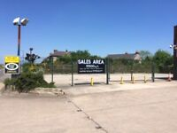 SALES COMPOUND, BOLSOVER, CHESTERFIELD