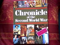 CHRONICLE OF THE SECOND WORLD WAR - 1994 CONCISE EDITION