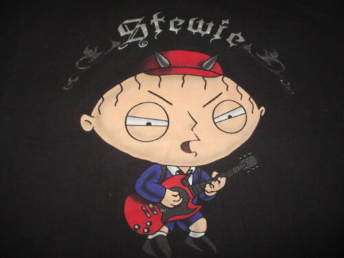 STEWIE Highway to Hell FAMILY GUY (LG) T-Shirt AC DC