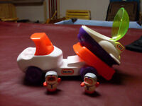 Little Tykes Truck and Space Ship