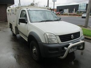 2003 Holden Rodeo RA LX White 4 Speed Automatic Cab Chassis Tottenham Maribyrnong Area Preview